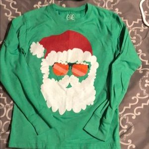 Wes and Willy long sleeve Christmas T Shirt size 4